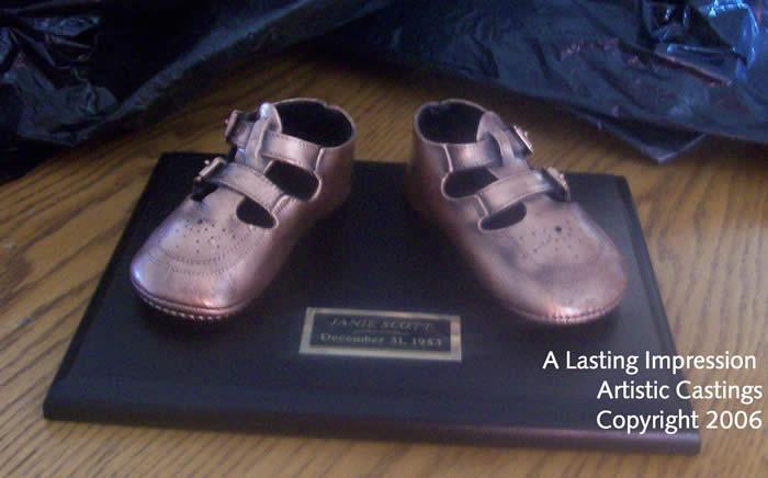 Baby Shoe Bronzing Calgary